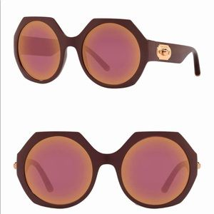 Dolce & Gabbana 54mm Polygon Sunglasses